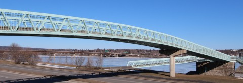 Fredericton Pedestrian Bridge